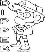 Dipper coloring