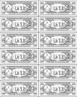 Dollar coloring