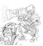 Dominance War coloring
