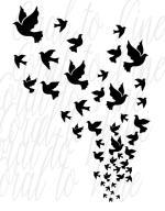 White Dove svg