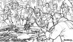 Dragon Age coloring