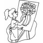 Drawing coloring