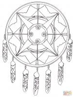 Dreamcatcher coloring