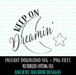 Dreaming svg