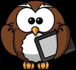Eagle-owl clipart