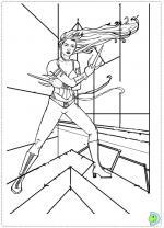 Elektra coloring