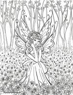 Elf Fairy coloring