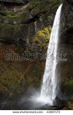 Elowah Falls clipart