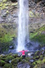 Elowah Falls coloring