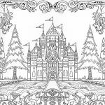Enchanted Castle coloring