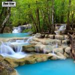 Erawan National Park coloring