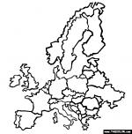Europe coloring