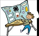 Exhibit clipart