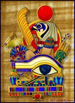 Eye Of Horus coloring