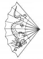 Fan coloring