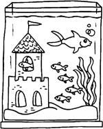 Fishtank coloring
