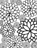 Flower coloring