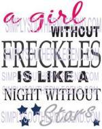 Freckles svg