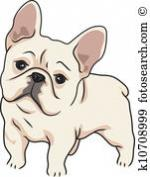 French Bulldog clipart