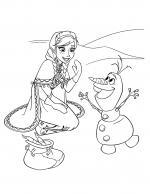 Frozen (Movie) coloring