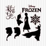 Frozen svg