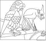 Gargoyle coloring