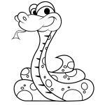 Garter Snake coloring