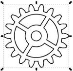 Gears coloring