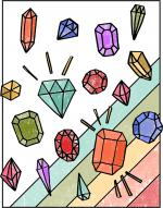 Gemstones coloring