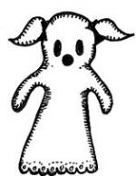 Ghostly Girl clipart