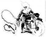 Ghostrider coloring