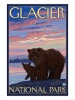 Glacier National Park clipart
