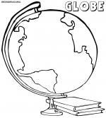Globe coloring
