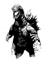 Godzilla svg