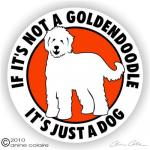 Goldendoodle clipart