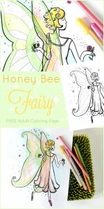 Green Fairy coloring