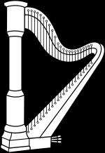 Harp coloring