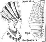 Headdress coloring
