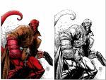 Hellboy coloring