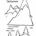High Mountain coloring