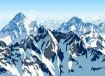 Himalayas clipart
