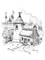 Hogwarts Castle coloring