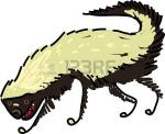 Honey Badger clipart