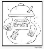 Honey coloring