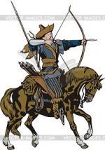 Horsemen clipart