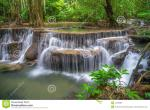 Huai Mae Kamin Waterfall clipart