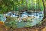 Huai Mae Kamin Waterfall svg