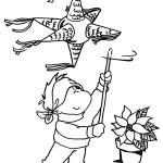 Huitzilopochtli coloring