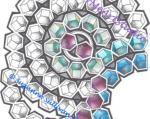 Hypnotic coloring