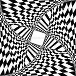 Illusion coloring
